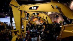 Caterpillar tem resultado menor no trimestre com recuperação vacilante da economia global
