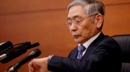 BC do Japão reduz projeções para economia mas indica pausa na política monetária