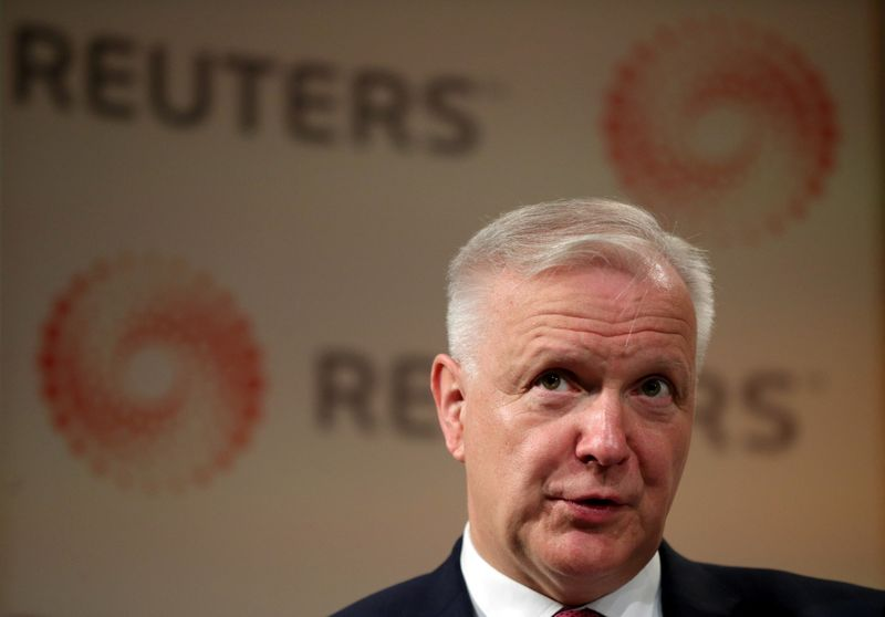 BCE discutirá nova meta de inflação na próxima semana, diz Rehn