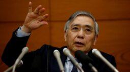 Presidente do BC do Japão diz que não há necessidade imediata de revisar estrutura de política monetária