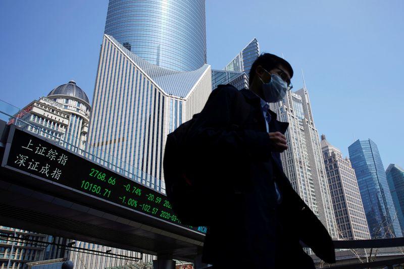 Ações da China fecham em baixa por tensão com EUA e novos casos de coronavírus