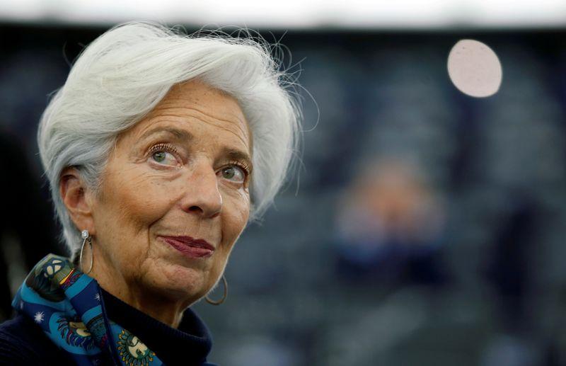 REUTERS NETX-Lagarde, do BCE, mantém perspectiva positiva para a zona do euro