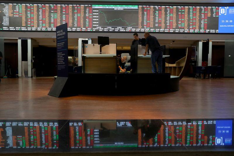 Ibovespa futuro aponta leve baixa, com mercado de olho no Federal Reserve