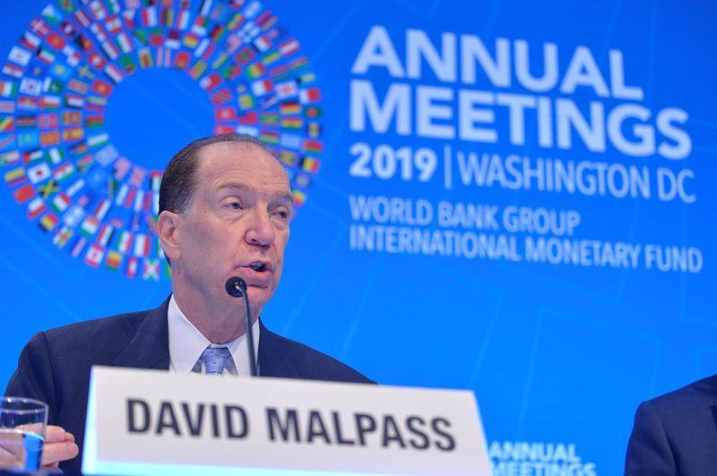 REUTERS NEXT-Presidente do Banco Mundial diz que cortes de juros estão sendo usados em algumas reestruturações de dívida