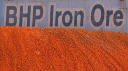 BHP espera produção anual recorde de minério de ferro com retomada da Samarco