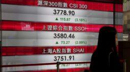 Mercado da China fecha em alta com liquidez abundante e papeis de saúde e veículos elétricos