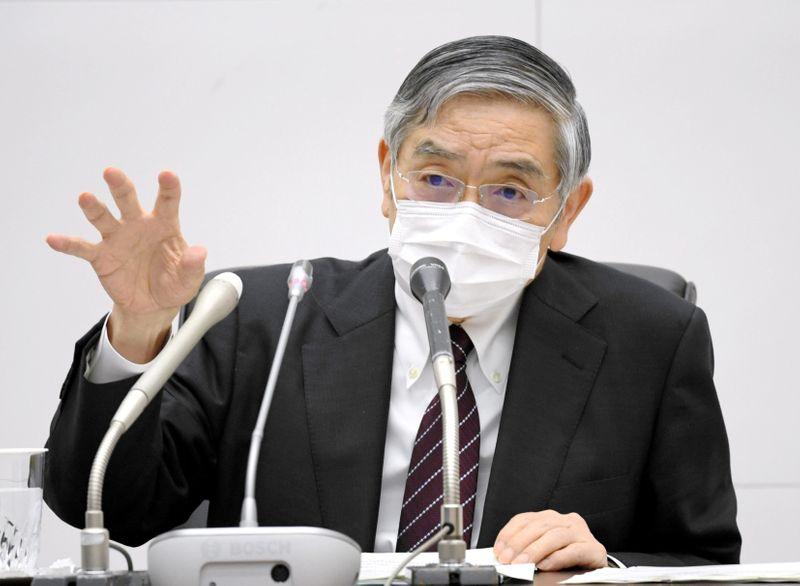 Kuroda diz que BC do Japão buscará maneiras de deixar compra de ETFs mais eficaz