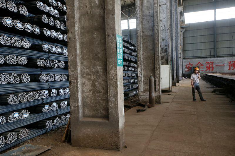Aço e minério de ferro sobem na China com recuperação macro melhorando perspectivas