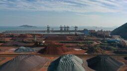 Importações de minério de ferro pela China em janeiro e fevereiro crescem 2,8%