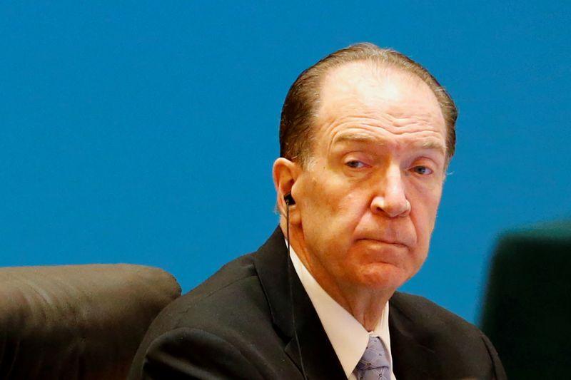 Presidente do Banco Mundial espera que G20 estenda congelamento de dívidas até fim de 2021