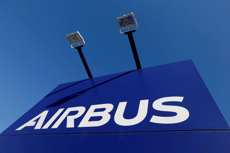 Entregas de aviões da Airbus sobem em março