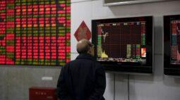 Mercado acionário da China recua com dados de comércio alimentando preocupações de aperto
