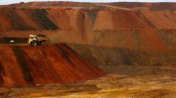 Importações de minério de ferro pela China saltam 19% em março