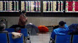 Ações da China fecham em baixa com temores de aperto da política monetária antes de PIB