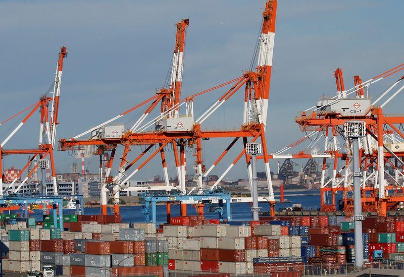Exportações do Japão registram maior ganho mensal desde o final de 2017