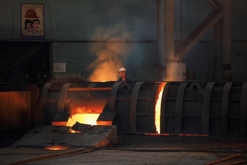 Preços do aço na China tocam nível recorde com demanda robusta no país e fora