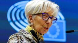 Discussão sobre fim gradual da compra emergencial de títulos pelo BCE é prematura, diz Lagarde