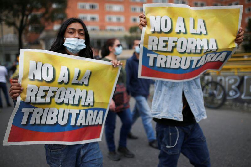 Governo da Colômbia começa a reduzir meta de arrecadação em proposta de reforma tributária