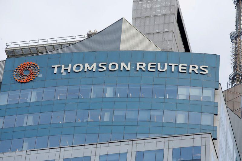 Thomson Reuters tem receita e lucro operacional acima do esperado no 1º tri