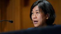 Representante comercial dos EUA diz que tempo é essencial para revisão de relações com China