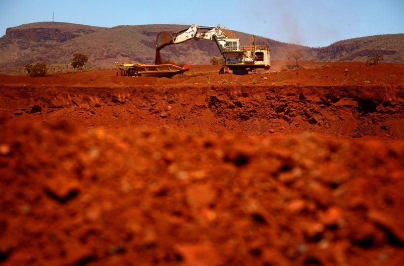 Importação de minério de ferro pela China tem mínima de 13 meses
