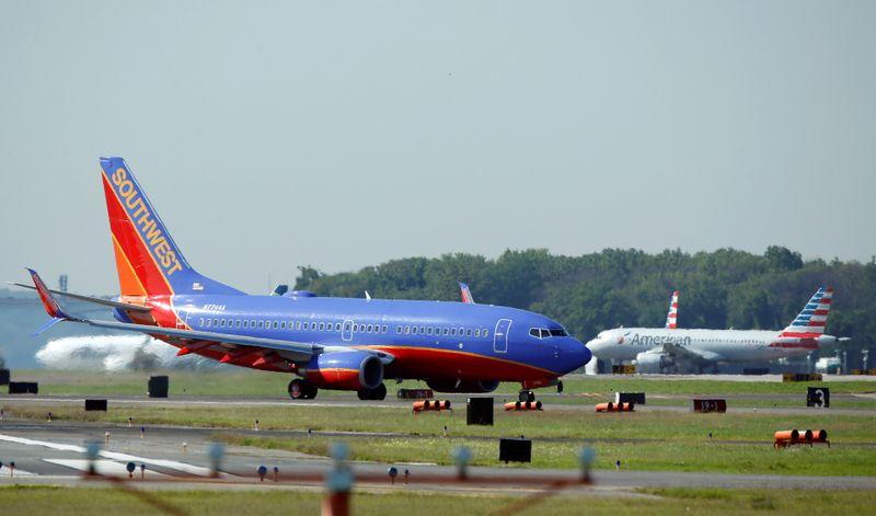American e Southwest Airlines têm lucro em junho mesmo sem ajuda de governo dos EUA