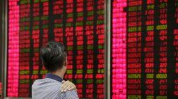 BOLSA ÁSIA-Ações de Xangai recuam em dia volátil