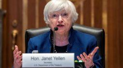 Yellen diz que taxas mensais de inflação vão arrefecer até fim de 2021