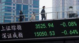 BOLSA ÁSIA-Ações da China recuam com temores sobre repressão do governo