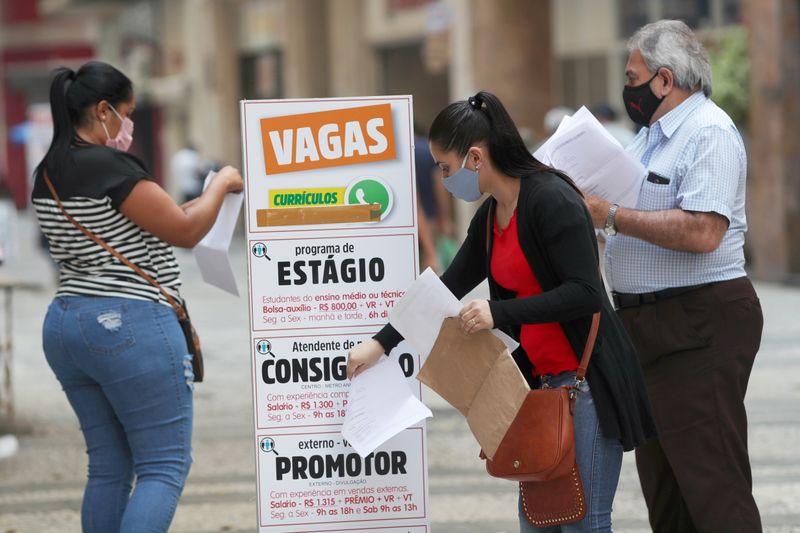Indicador Antecedente de Emprego no Brasil vai a máxima desde fevereiro de 2020 em julho, diz FGV