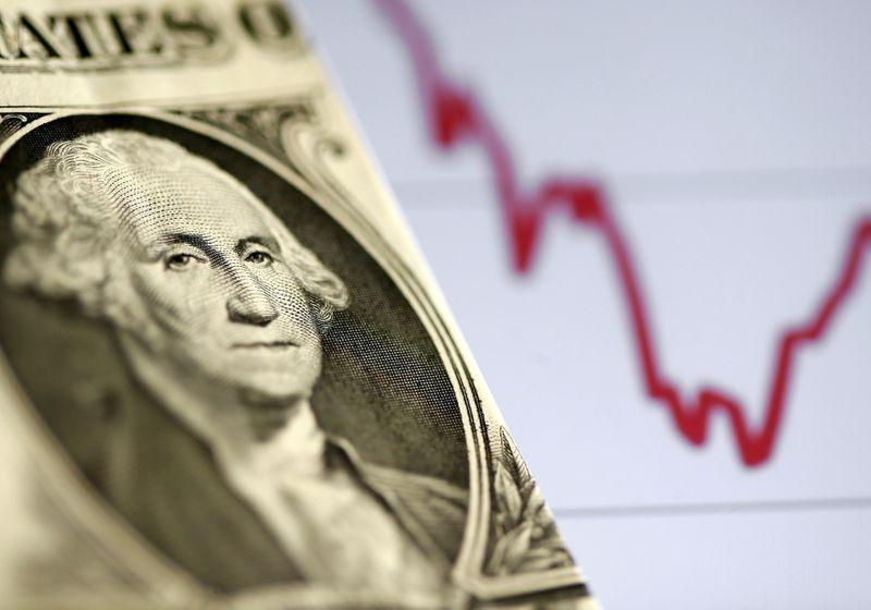 Dólar completa 3ª semana de ganhos por cautela externa e incerteza local