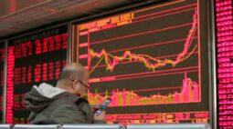 Ações da China tem maior ganho em 3 semanas com otimismo sobre crescimento