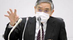 Kuroda, do BC do Japão, descarta chance de maior faixa de rendimento em revisão de março