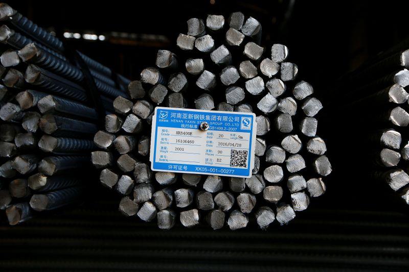 Aço e minério de ferro caem 6% na China com novo alerta sobre fiscalização no mercado