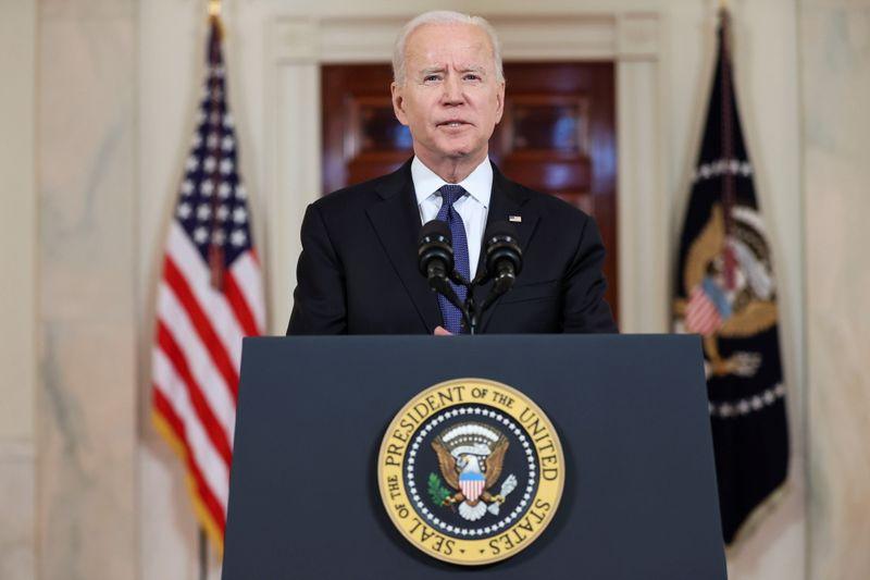 Biden diz querer concluir em breve negociações sobre pacote de infraestrutura