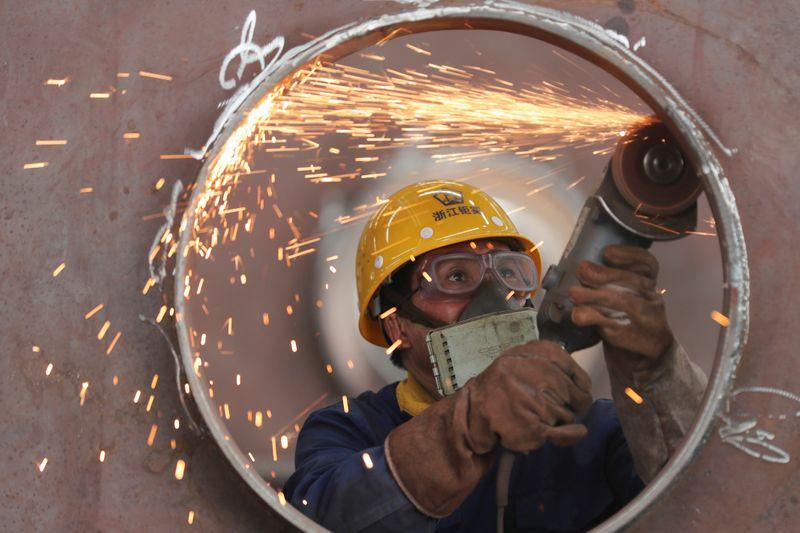 Expansão da indústria da China diminui em maio por custos de matérias-primas, mostra PMI oficial