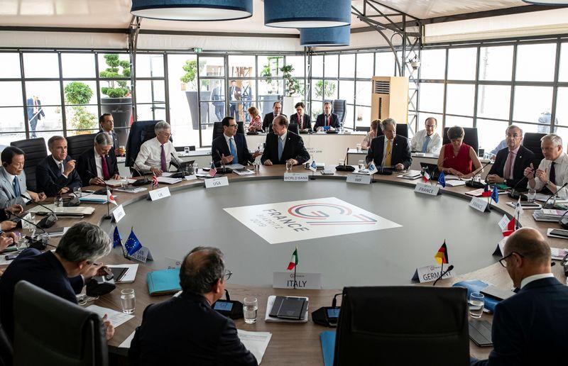 G7 apoiará imposto corporativo global mínimo e promete manter suporte, mostra esboço de comunicado