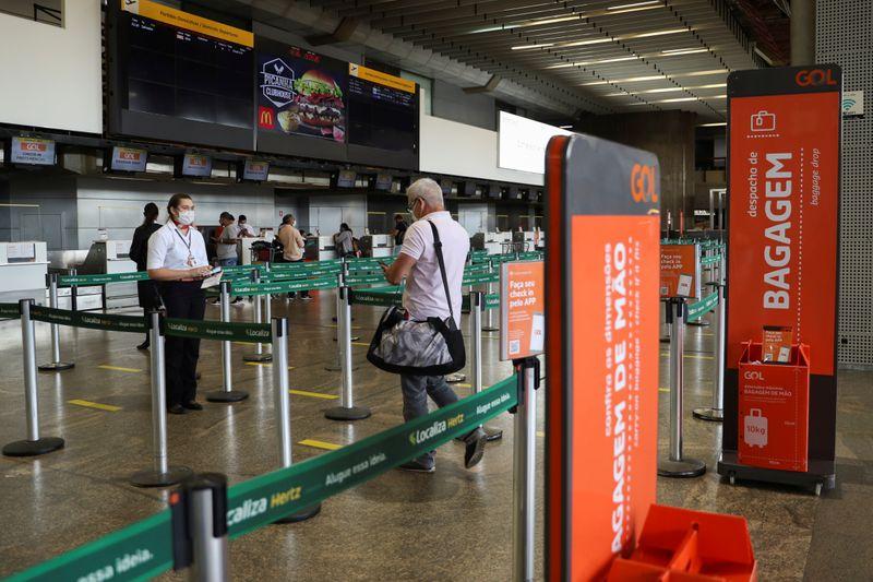 Demanda de passageiros e oferta de assentos da Gol sobem em maio