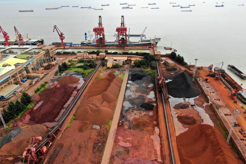 Minério de ferro salta na China com preocupações sobre oferta