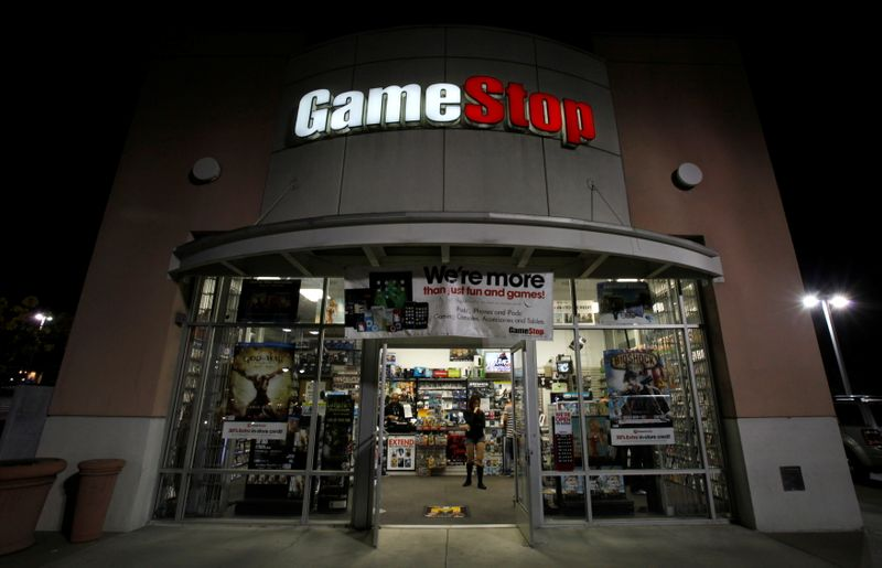 GameStop desaba, puxando queda das 'ações meme'