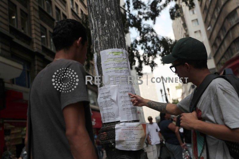 Indicador antecedente de emprego do Brasil indica em maio continuidade da recuperação, diz FGV
