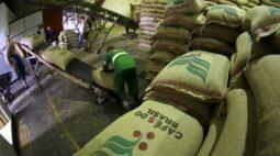 Exportação de café do Brasil cai 20,3% em maio, mas 2020/21 já é ano recorde