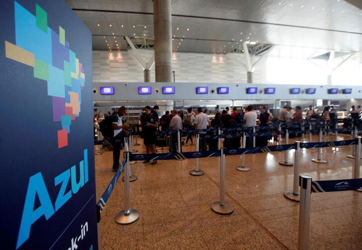 Tráfego de passageiros da Azul cresce 12,4% entre abril e maio