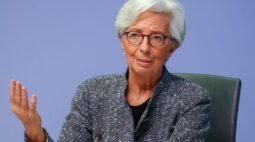 """Economias da zona do euro e dos EUA estão em """"situação diferente"""", diz Lagarde, do BCE"""