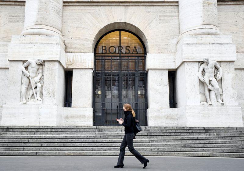 Temores de inflação mantêm ações europeias abaixo de máximas históricas