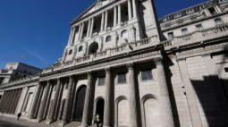 BC britânico mantém inalterados juros e tamanho de programa de compra de títulos