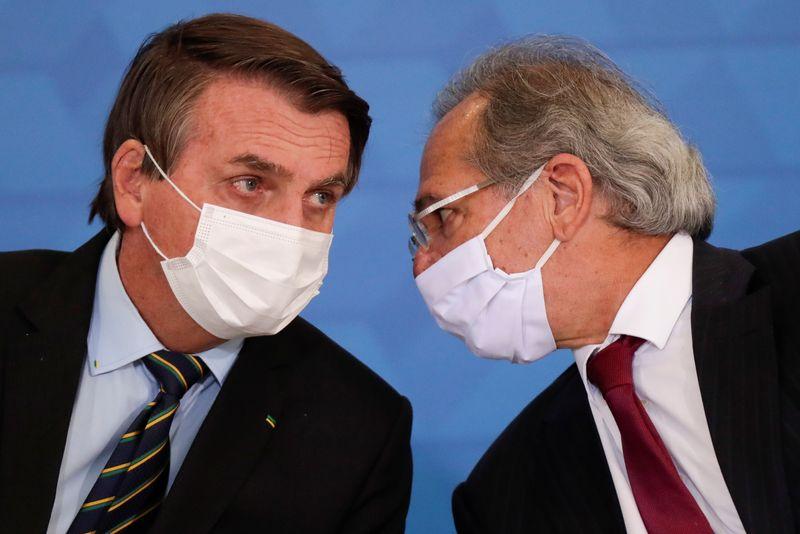 Guedes relata pressão de Bolsonaro para liberar recursos para Infraestrutura