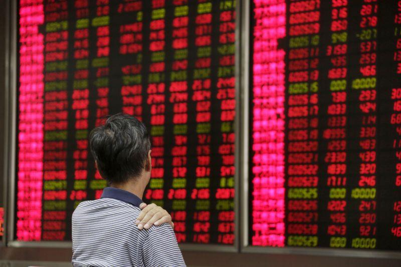 Índice de blue chip da China termina em alta com impulso de ações de tecnologia