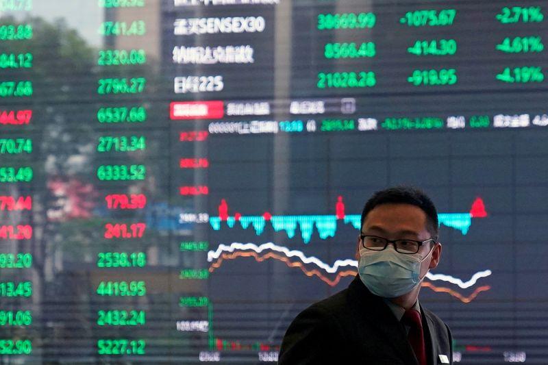 Ações da China caem com perdas de empresas de saúde e tecnologia