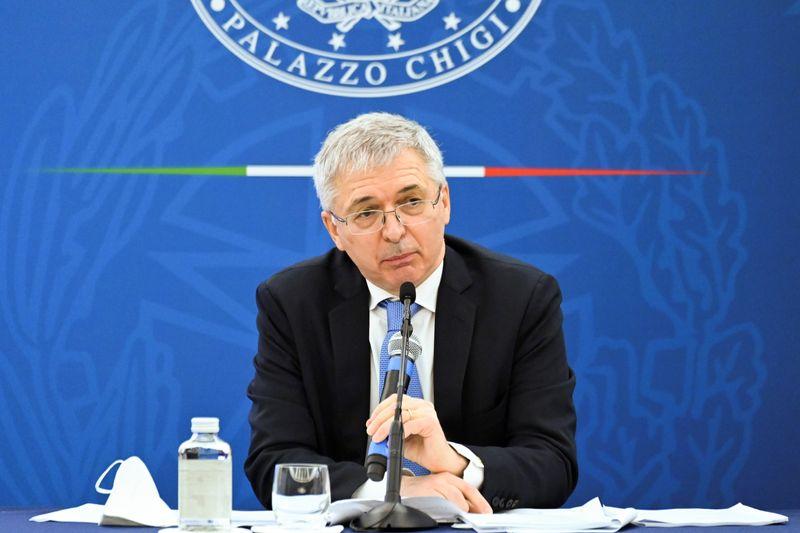 Ministro da Economia italiano vê PIB forte no 2º tri e crescimento anual de ao menos 5%